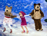 Шо� �а�и и �едвед� «Masha & The Bear on Ice»
